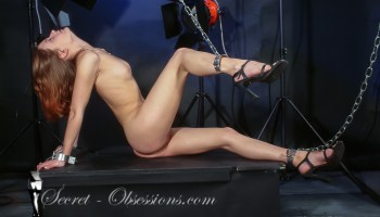 Amber in chain bondage