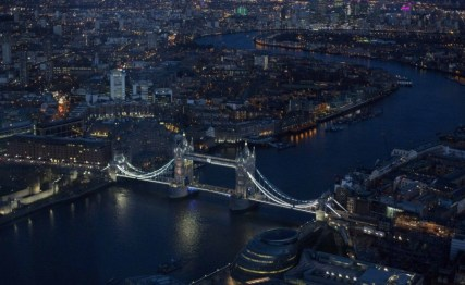 Amazing View over Tower Bridge and London City
