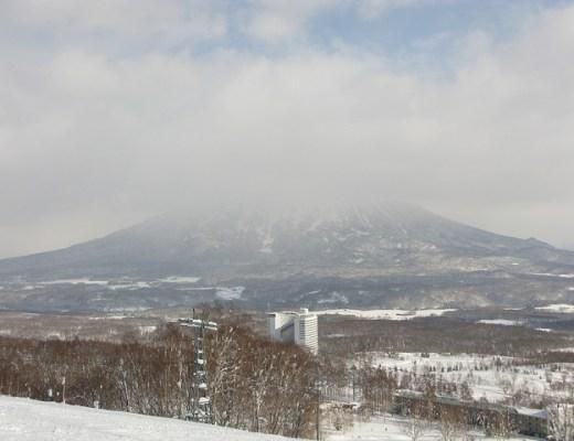view over Niseko