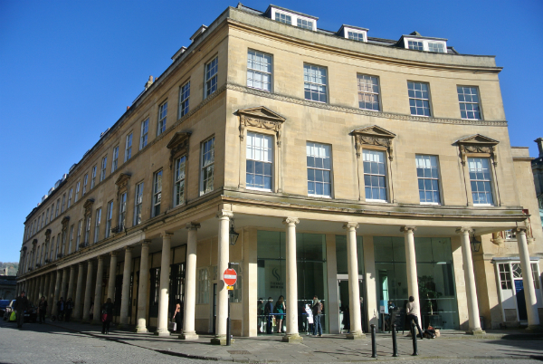 Thermae Spa Bath from outside