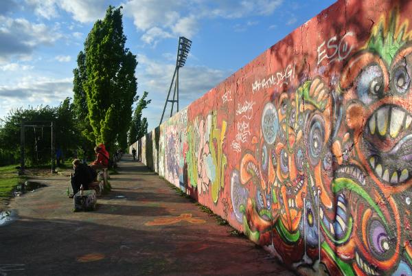 Maueropark in Berlin