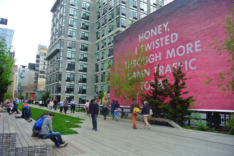 Highline Walk New York