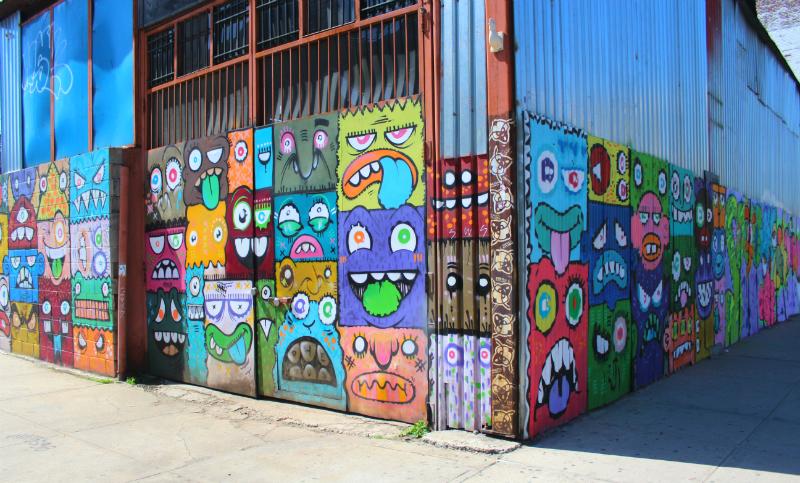 street art in Bushwick, NYC