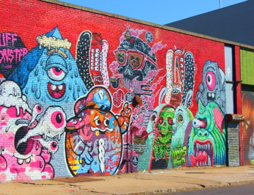 street art in Bushwick, NYC