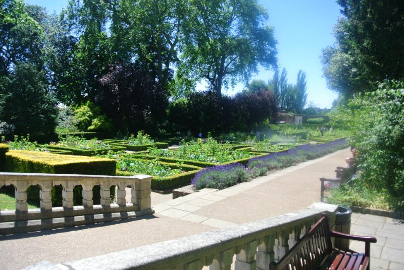 Dutch Garden in Holland Park London