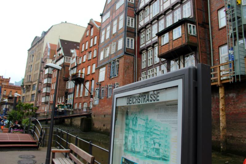 Deichstrasse in Hamburg
