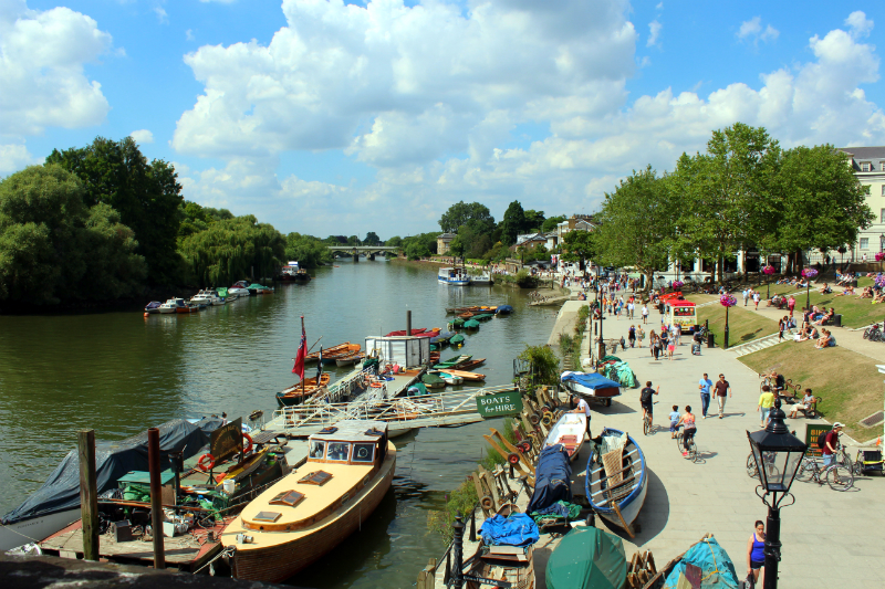 Richmond upon Thames in London