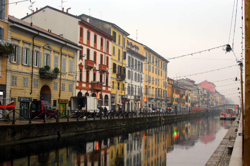Navigli District in Milan