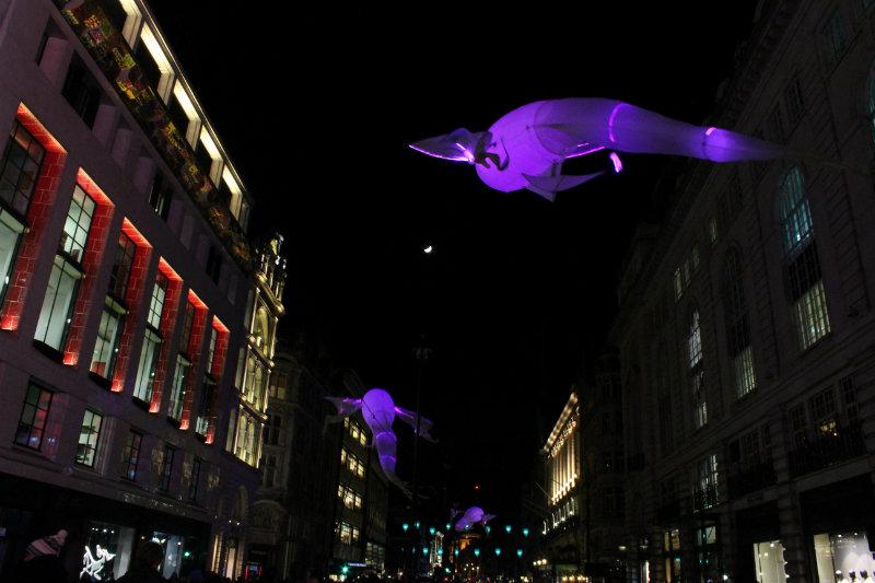 Lumiere Festival London - Les Luminéoles