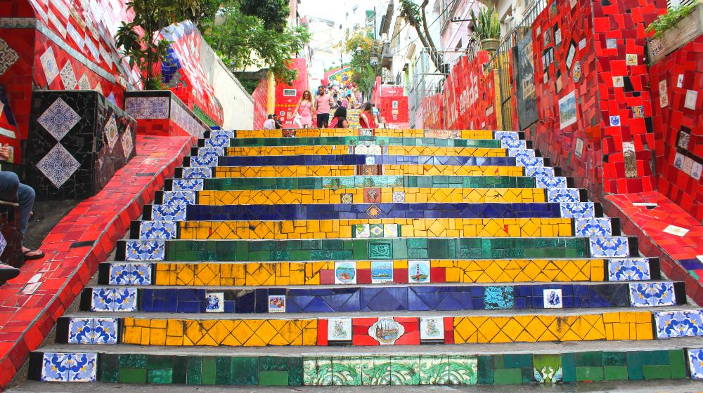Selaron steps of Rio
