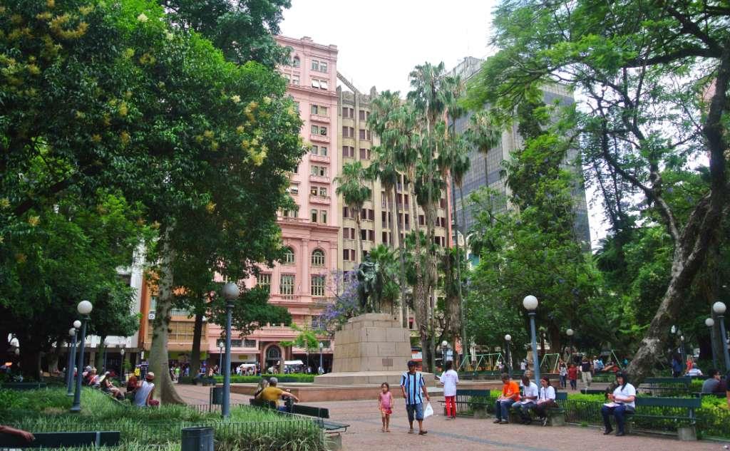 Porto Alegre in Brazil