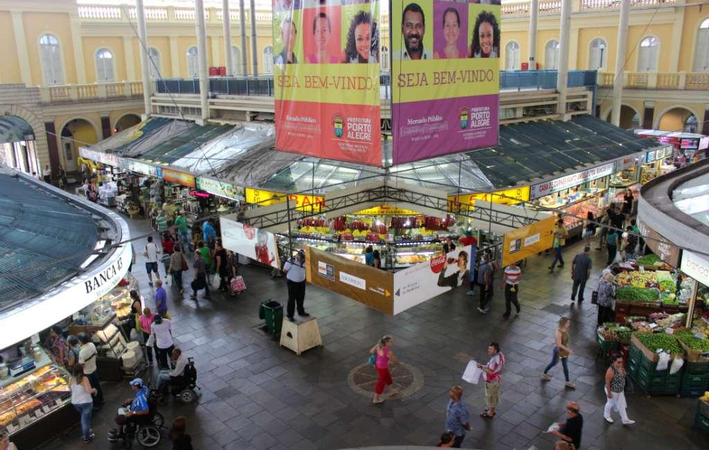 public market in Porto Alegre