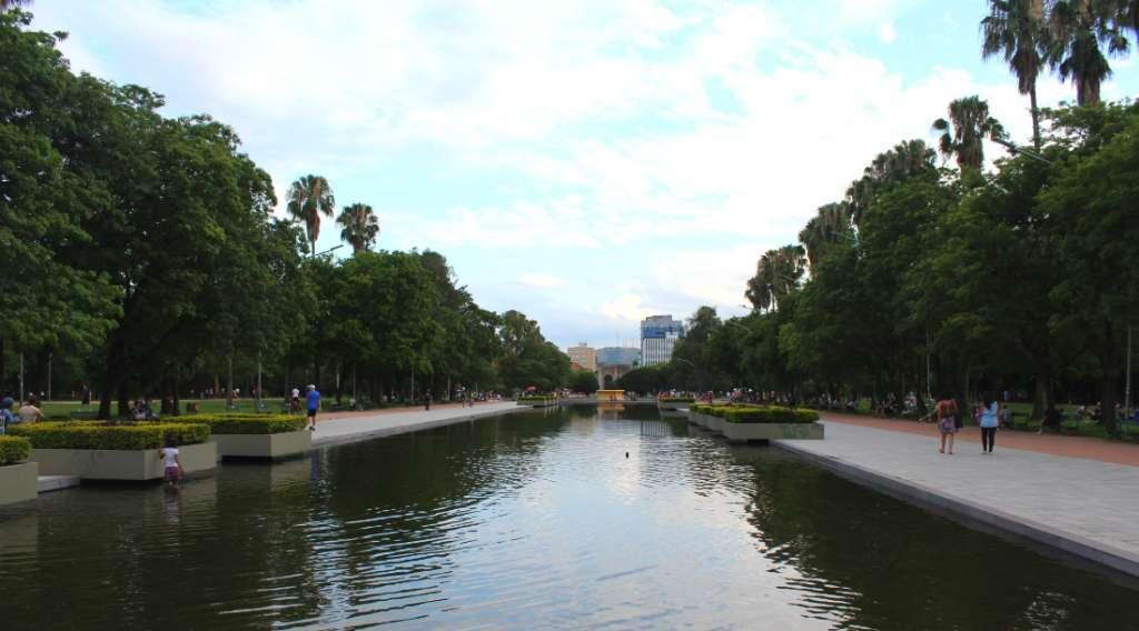 Park in Porto Alegre, Brazil