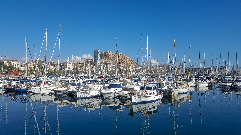 harbour in Alicante