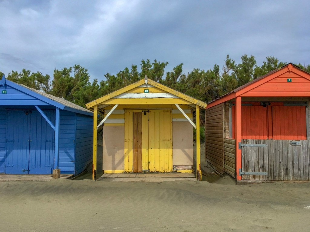 Beach Huts in West Wittering