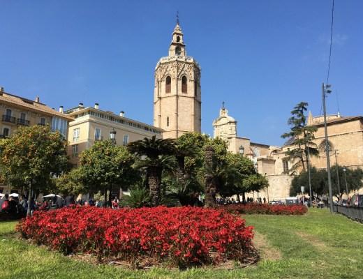Central square in Valencia