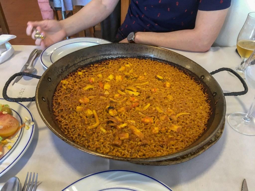 paella in Valencia