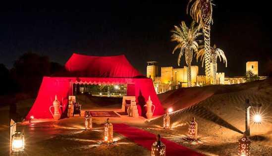 5 Sterne Safari Dubai in die Wüstenfestung