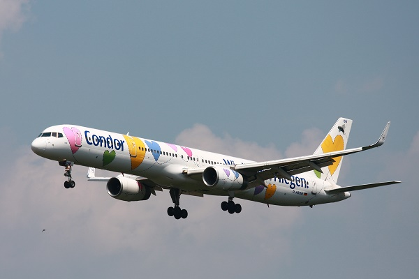 Who flies to Barbados? Condor Airlines