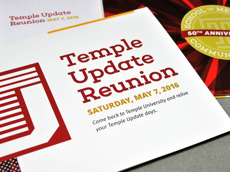 Temple Update Reunion Invitation