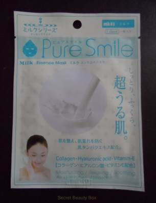 pure smile face mask