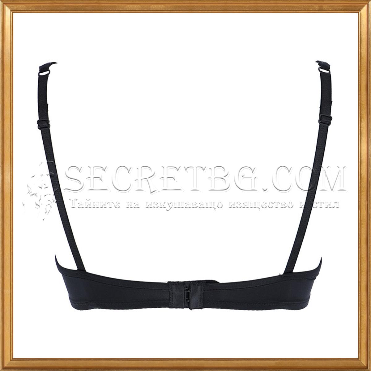 сутиен Cotonella 8643 черен гръб