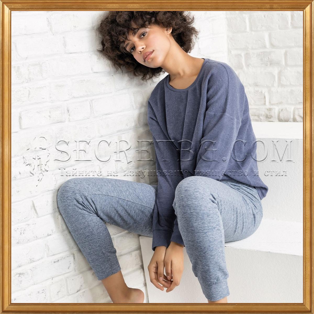 Луксозна италианска дамска пижама Jadea 5110