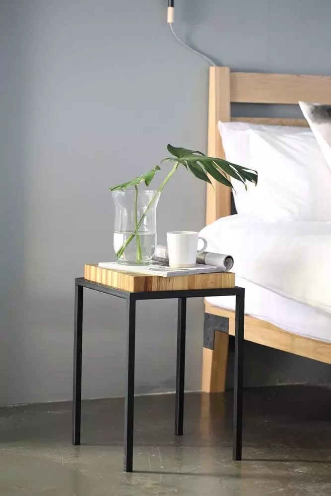Bed and side table Pedersen and Lennard Furniture Company Cape Town