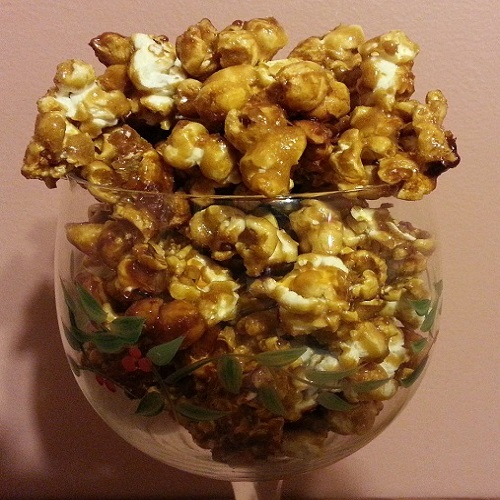 Tequila-Spiked Caramel Corn 2