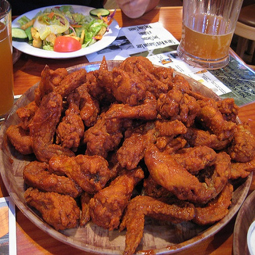 Hooters Buffalo Chicken Wings Recipe