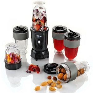 MaxiMatic EPB-1800 Elite Cuisine 300-Watt 17-Piece Personal Drink Blender