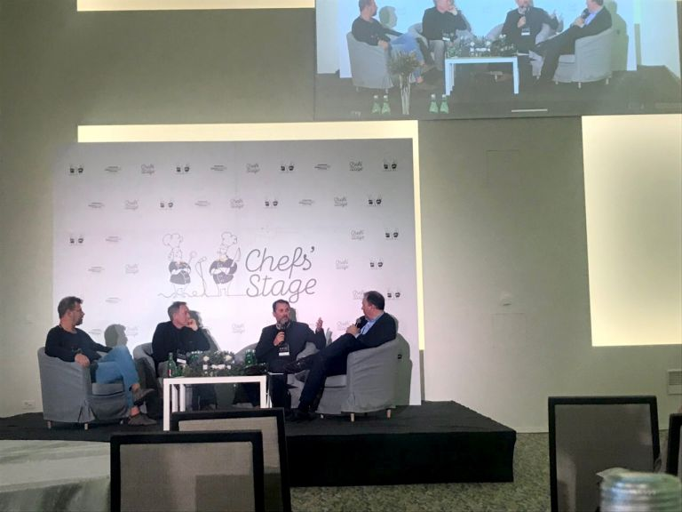 Panel discussion at Chef's Stage 2019