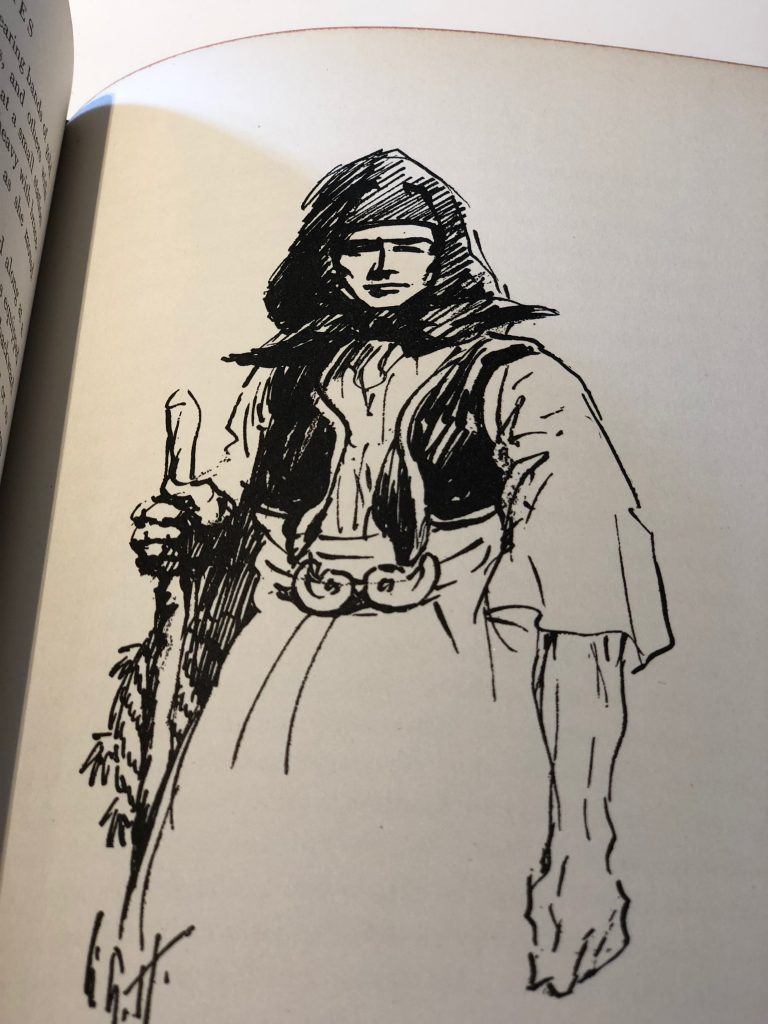 Balkan Sketches - shepherdess