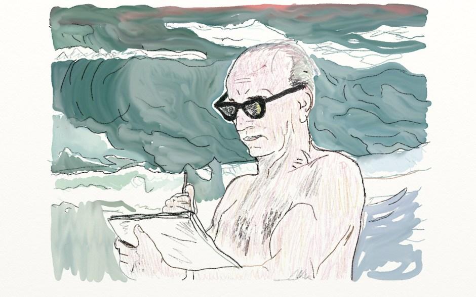 Smallwood's stroll on the beach, By J.H. Burns