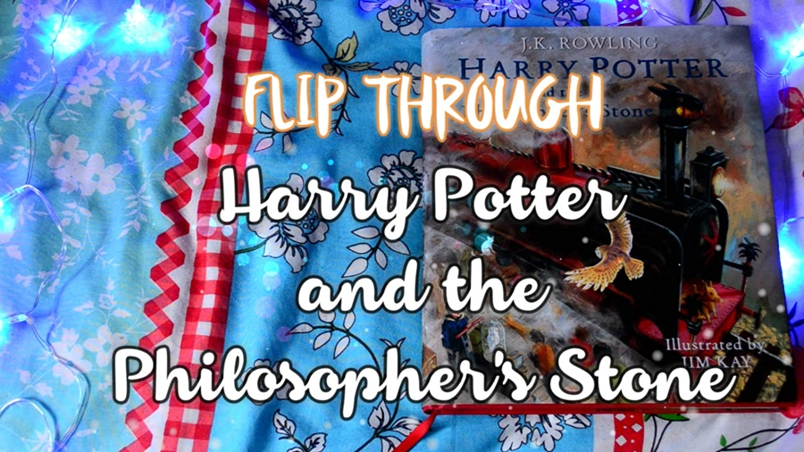 flip through harry potter philosopher's stone illustrated edition