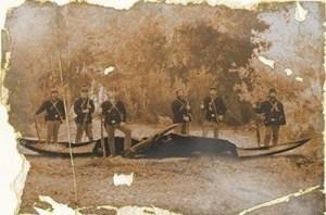 Pterodactil doborât în timpul Războiului Civil (1860)