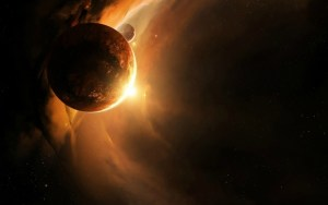 Planetoid_crashing_into_primordial_Earthdfgdfgdf