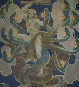 Herakles vs. Hydra 1