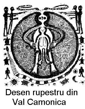 Desen rupestru din Val Camonica