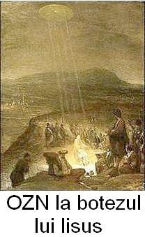 OZN la botezul lui Iisus