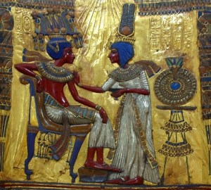 Tutankhamon și Ankhesenamun
