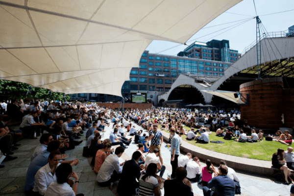 exchange-square-broadgate-london-olympics-big-screen-sport-summer