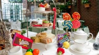 charlie afternoon tea