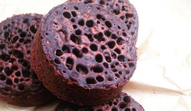 chocolate crumpet