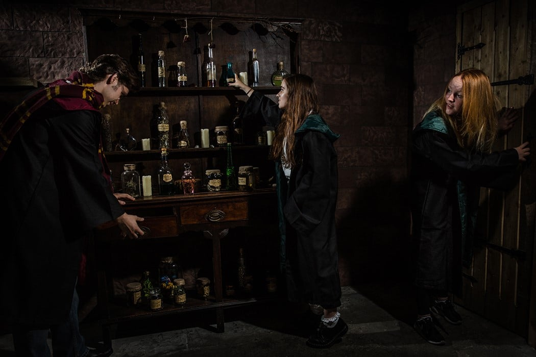 Harry Potter Escape Room London School Of Witchcraft And