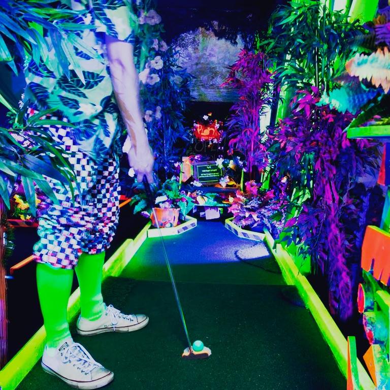 Crazy Golf London - Plonk Mini Golf