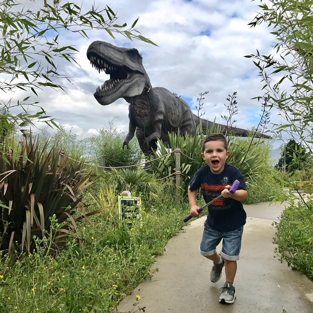 Dinosaur Crazy Golf, Ruislip London
