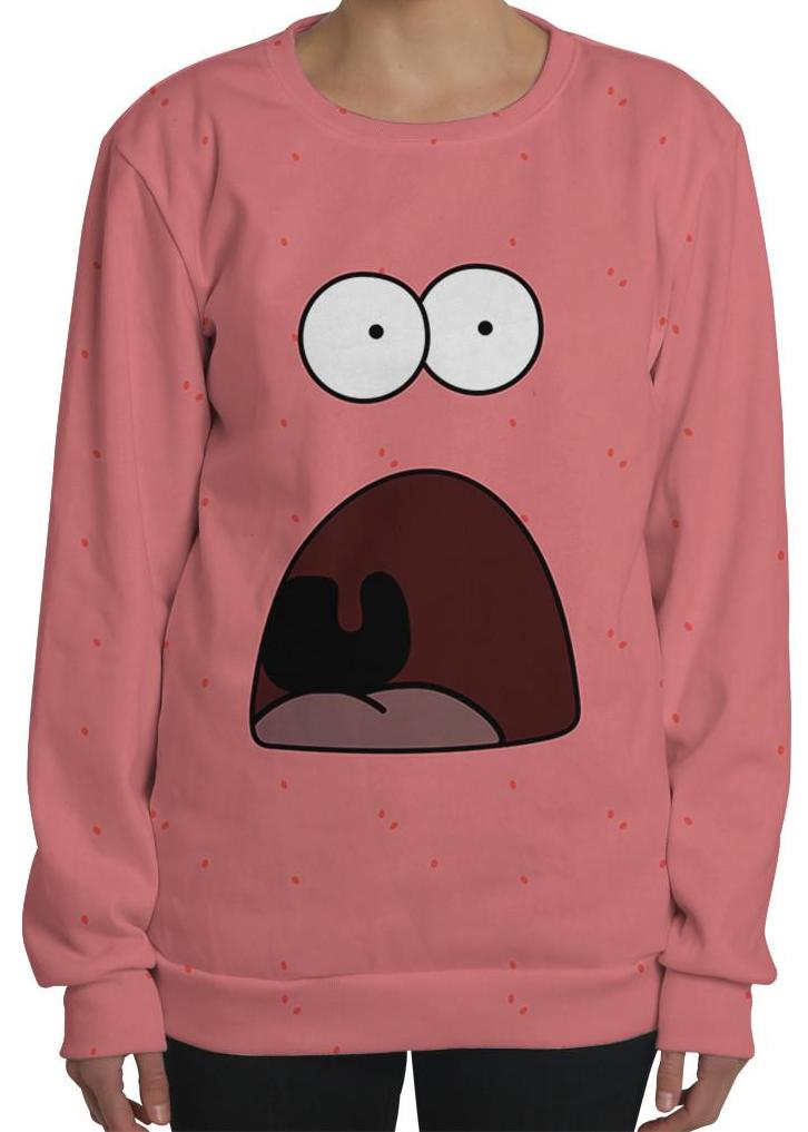 Shocked Face Patrick Sweater