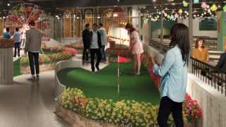 Crazy Golf London, Swingers Oxford Circus