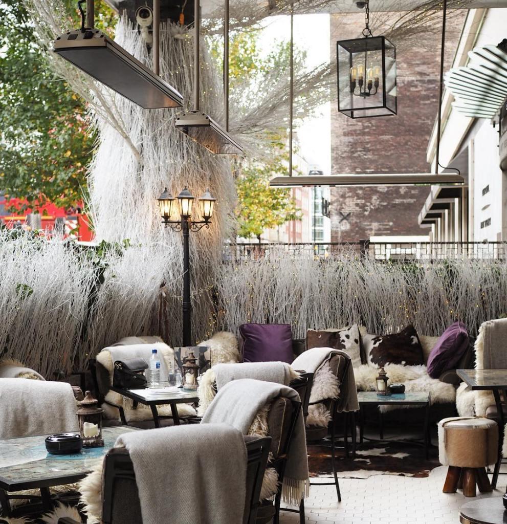 Churchill Bar Winter Terrace